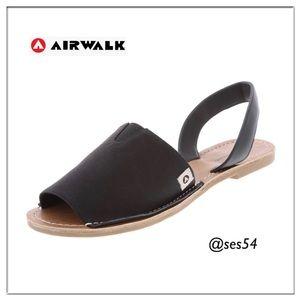 Airwalk Noelle Black slide sandals